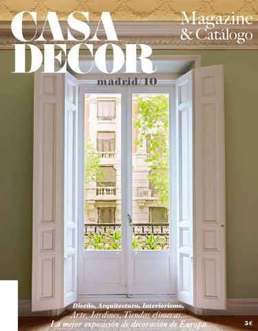 Casa decor madird 2010 by casa decor issuu - Gancedo barcelona ...