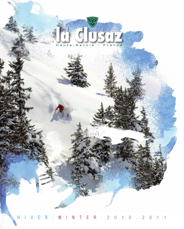 La clusaz hiver winter 2010 2011 by office de tourisme de la clusaz issuu - La clusaz office tourisme ...
