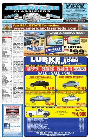3a1650a1aad91 San Angelo American Classifieds by San Angelo American Classifieds ...