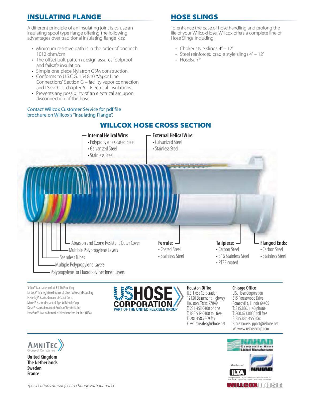 Wilcox Composite Hose Catalog by US Hose Corporation - issuu