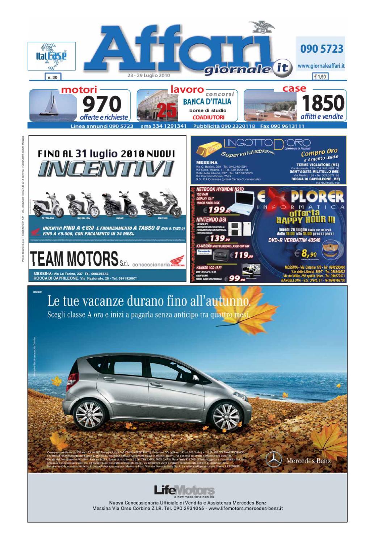 online retailer b18d3 9008a Giornale Affari 23 Luglio 2010 by Editoriale Affari Srl - is