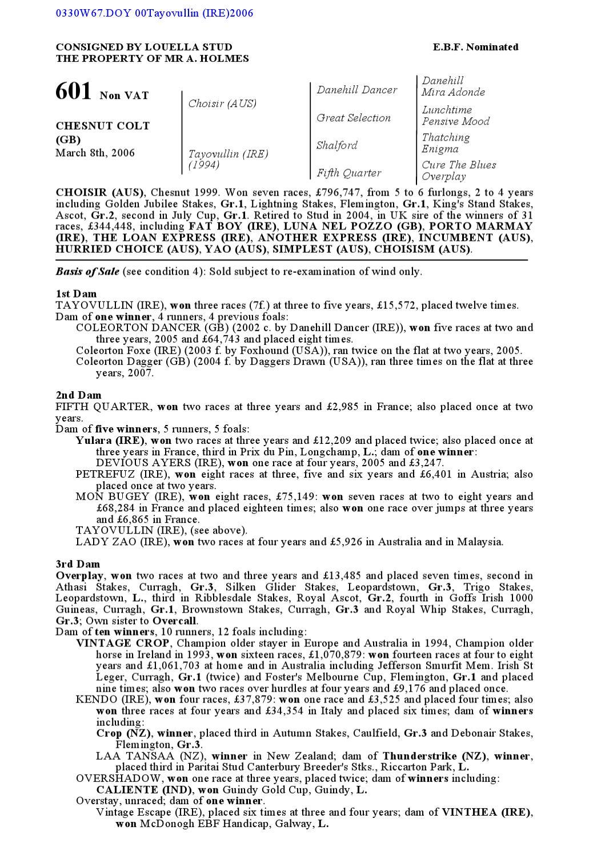 ea442c62627 DBS 2007 october yearling sales by Goffs - issuu