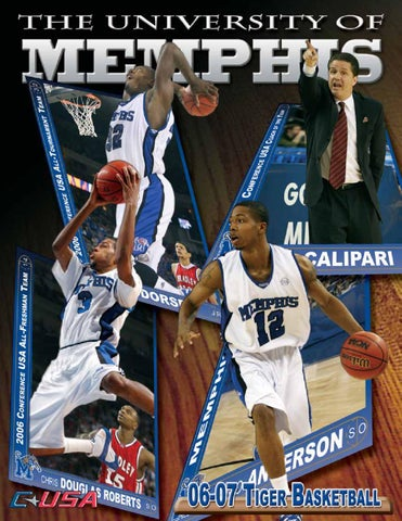6c3005320 2006-07 Memphis Men s Basketball Media Guide by University of ...