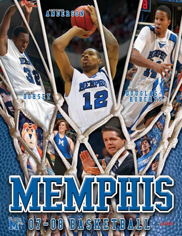 2007-08 memphis men's basketball media guide by university of
