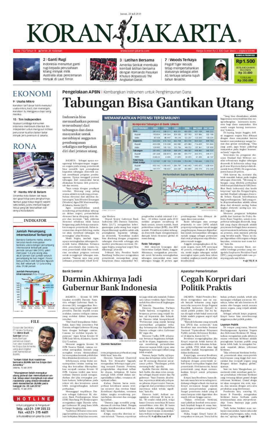 Edisi 752 23 Juli 2010 By Pt Berita Nusantara Issuu Produk Ukm Bumn Ring Berlian Eropa
