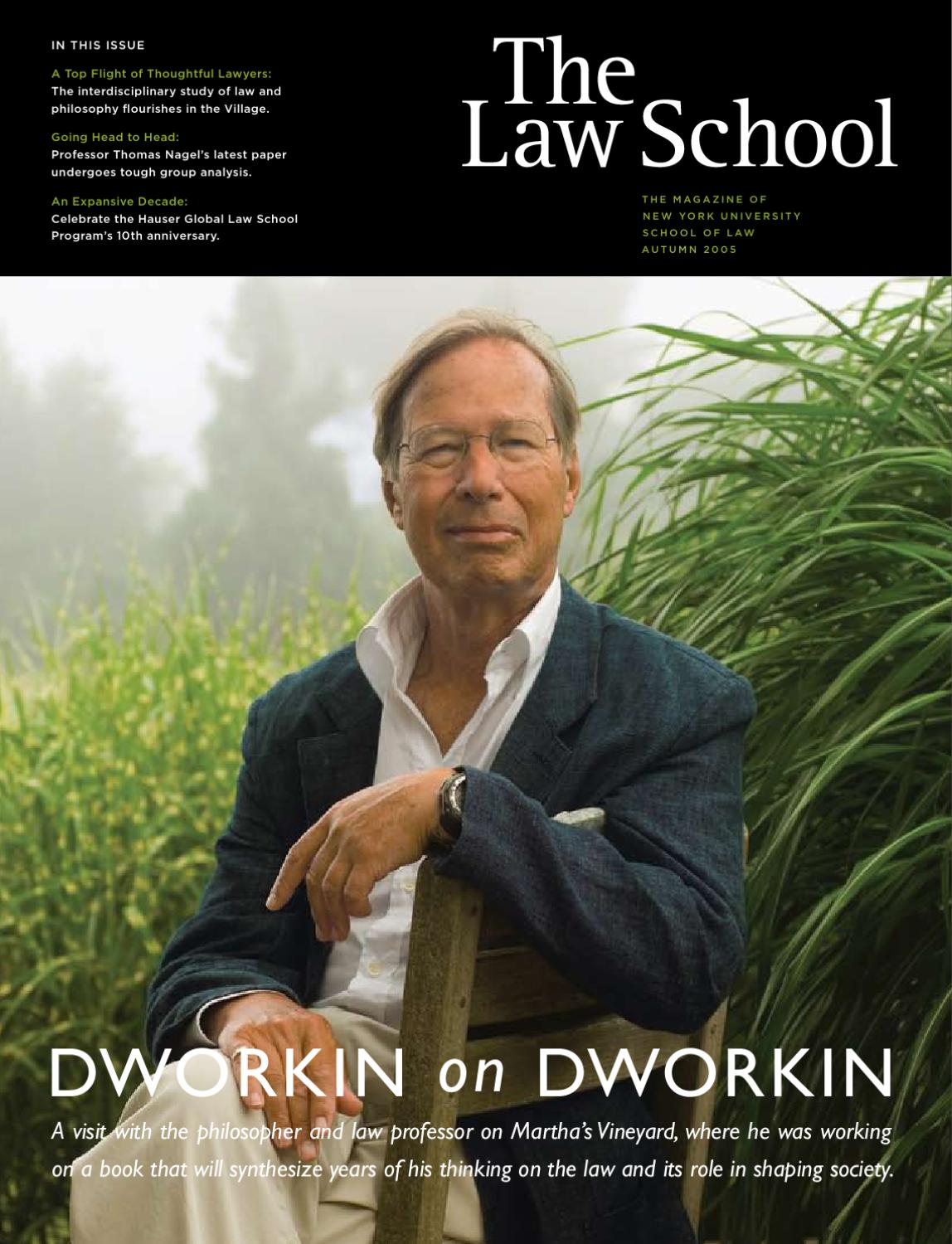 The Law School 2005 by NYU School of Law - issuu