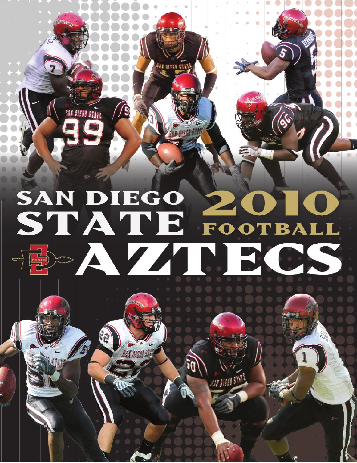 2010 San Diego State Football Media Guide By Peggy Curtin