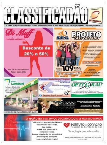 cbd84501c6384 JORNAL CLASSIFICADÃO - Edição 274 by Jornal Classificadão - issuu