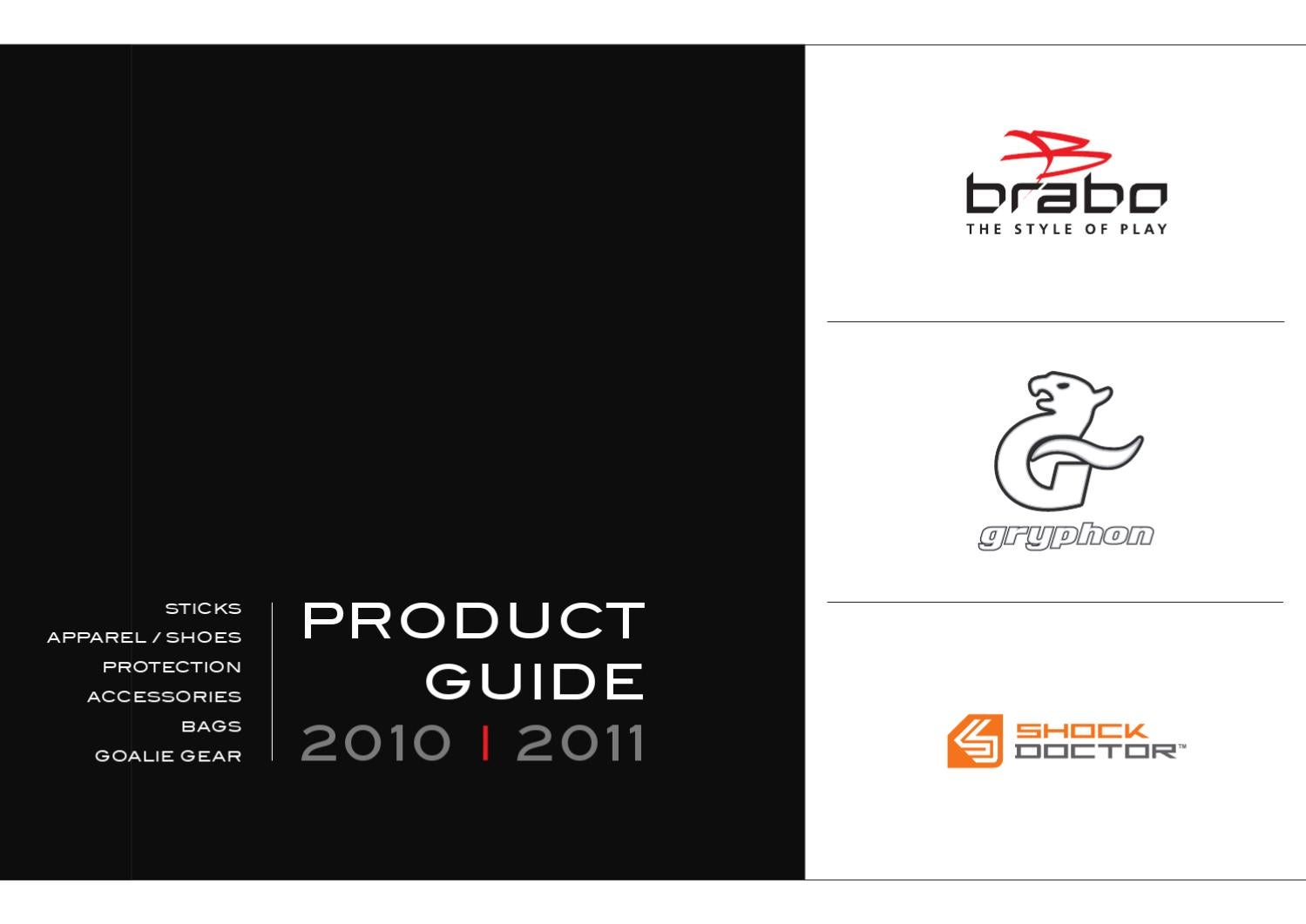 98c7227612a 2010-2011 Hockey Product Guide Brabo Export by Brabo Hockey - issuu