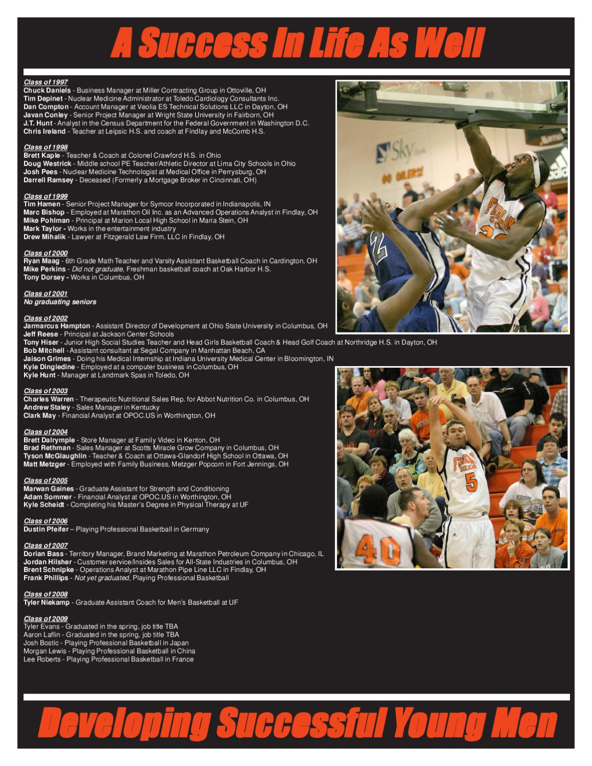 The University of Findlay - Men's Basketball by The