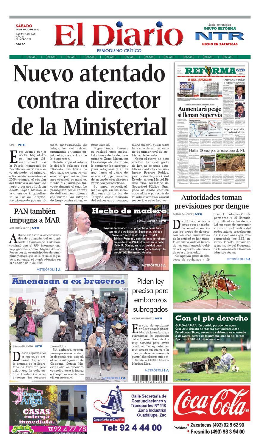 9cf0c0159804 El Diario NTR by NTR Medios de Comunicación - issuu