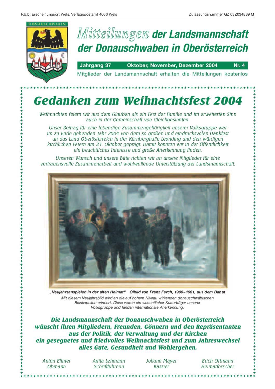 Mitteilungsblatt2004nr405 By Karl Heinz Schalek Issuu