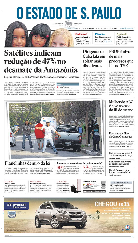 O Estado de SP em PDF - Quarta 21072010 by Carlos Silva - issuu 04e6b80071839