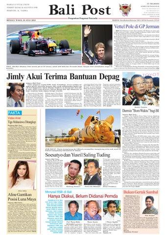 Edisi 25 Juli 2010   Balipost.com by e-Paper KMB - issuu