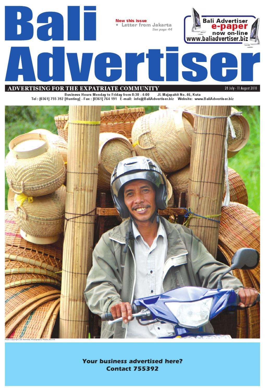 Ba 28 July 2010 By Bali Advertiser Issuu Rca Telephone Rca1113 Telepon Kabel Single Line Speakerphone