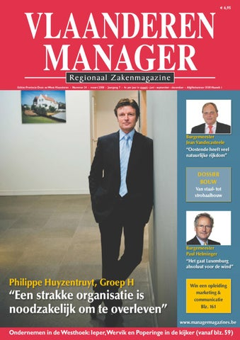 Vlaanderen Manager 24 By Manager Magazines Issuu