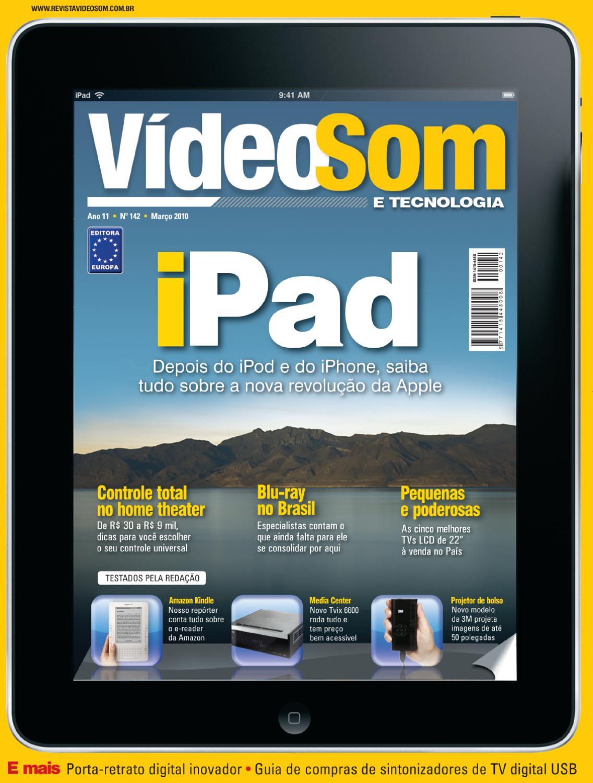 e2c1ab5bdeb Revista VídeoSom 142 by Editora Europa - issuu