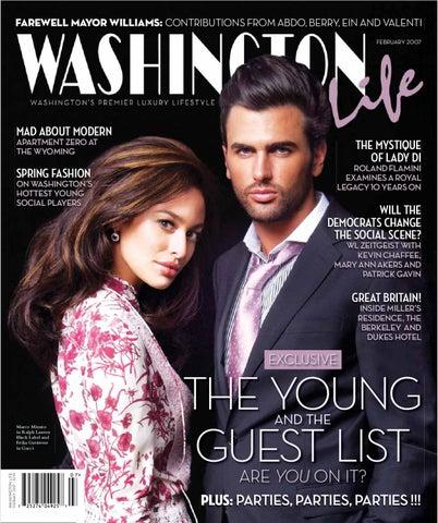 64a6d65e784e10 Washington Life Magazine - February 2007 by Washington Life Magazine ...