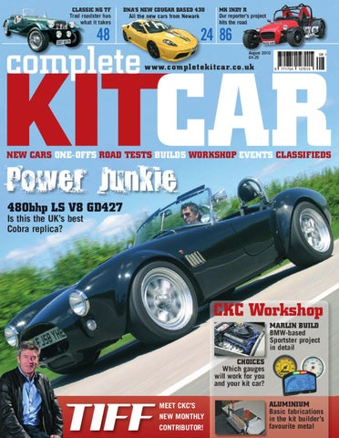 Kit Car Manufacturers >> Complete Kit Car Manufacturers August By Performance Publishing Ltd