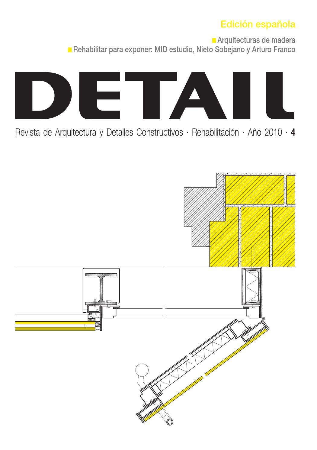 DETAIL Rehabilitación 2010 by Arte Cemento - issuu