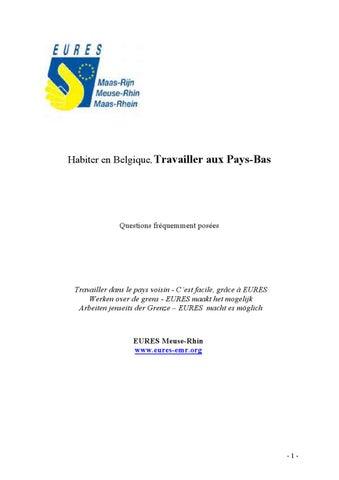 formulaire e301 belgique