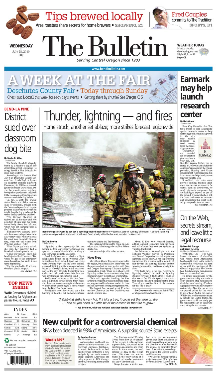 119b44bd8eec Bulletin Daily Paper 07 28 10 by Western Communications
