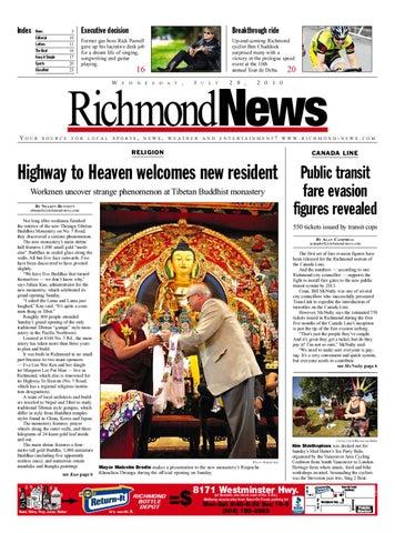 bc176fc0bb79 Richmond News July 28 2010 by Postmedia Community Publishing - issuu