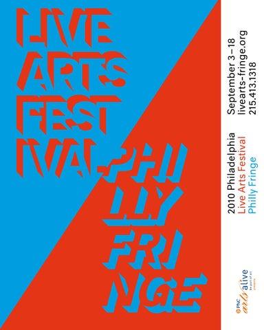 Festival Guide: 2010 Philadelphia Live Arts Festival