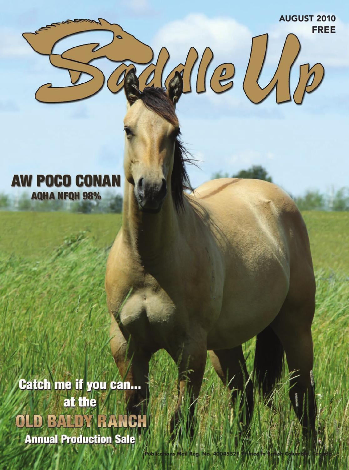 Saddle Up Aug-10 by Saddle Up magazine - issuu