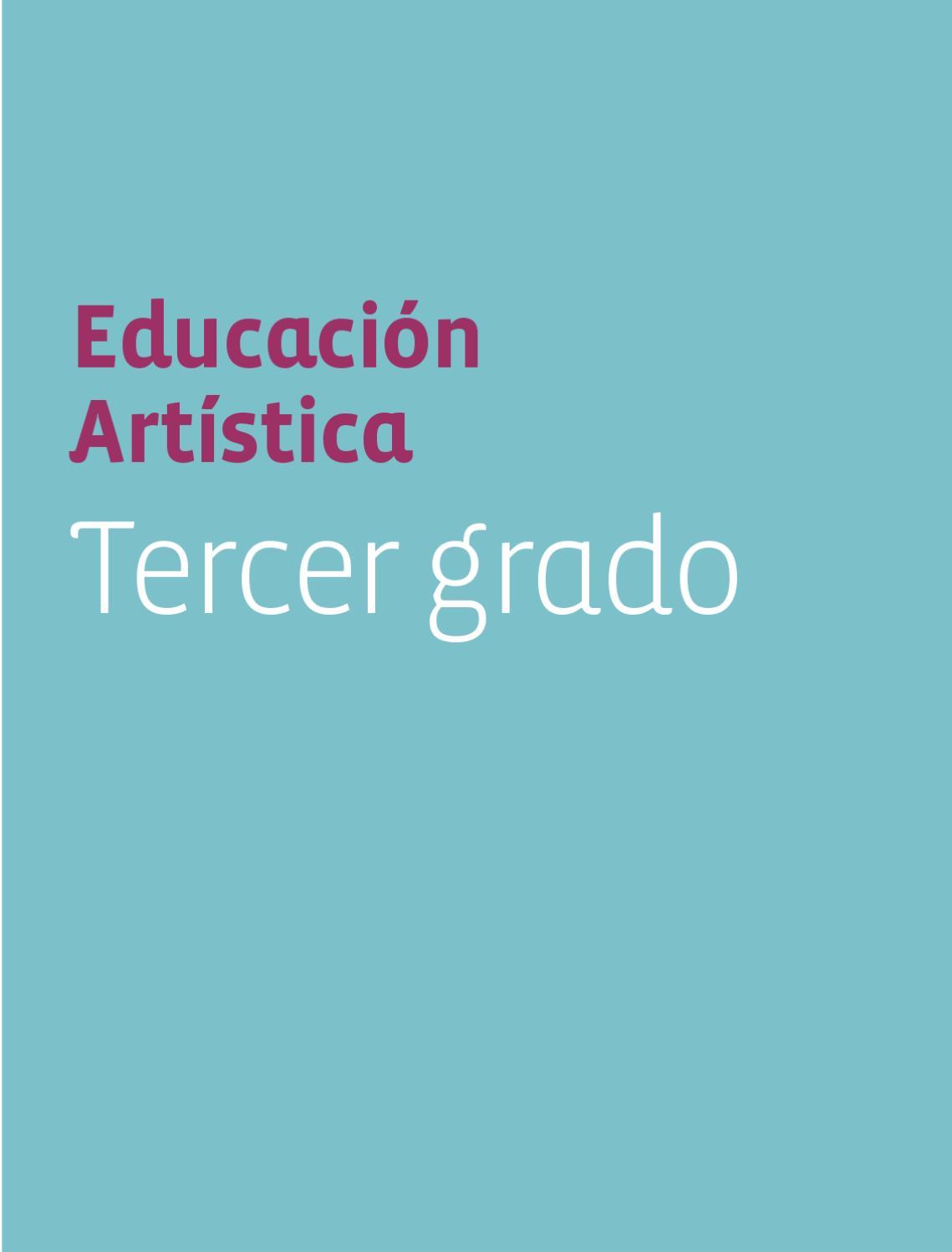 Educación Artistica 3er. Grado by Rarámuri - issuu
