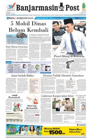 2876868a3a Banjarmasinpost Edisi Jumat 30 Juli 2010 by Banjarmasin Post - issuu