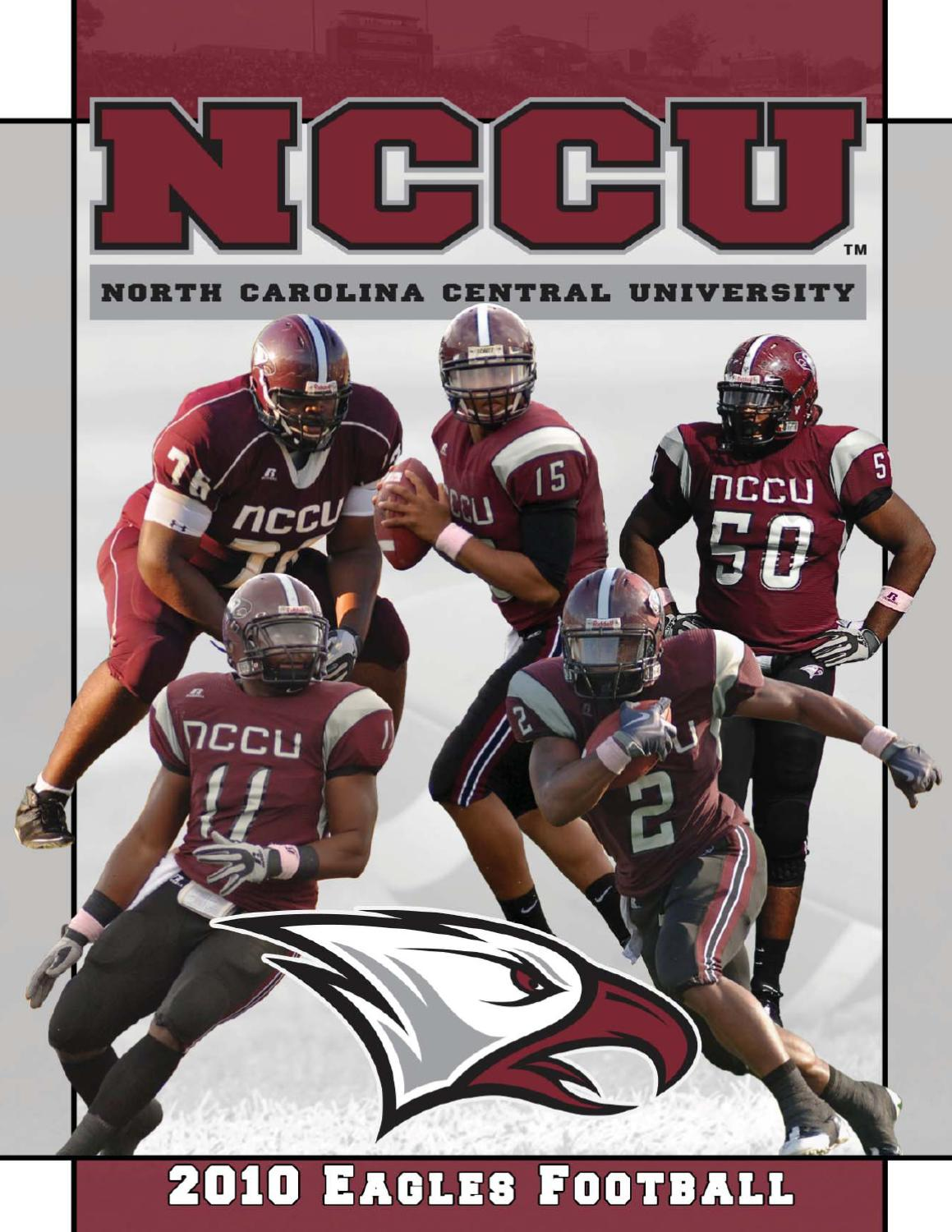 2010 NCCU Football Information Guide by North Carolina Central University  Department of Athletics - issuu c2aa2496a14e