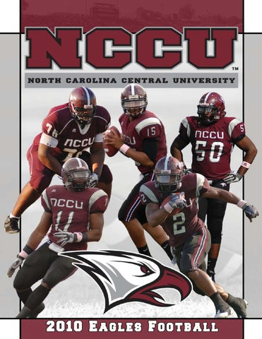 Top 2010 NCCU Football Information Guide by North Carolina Central  supplier