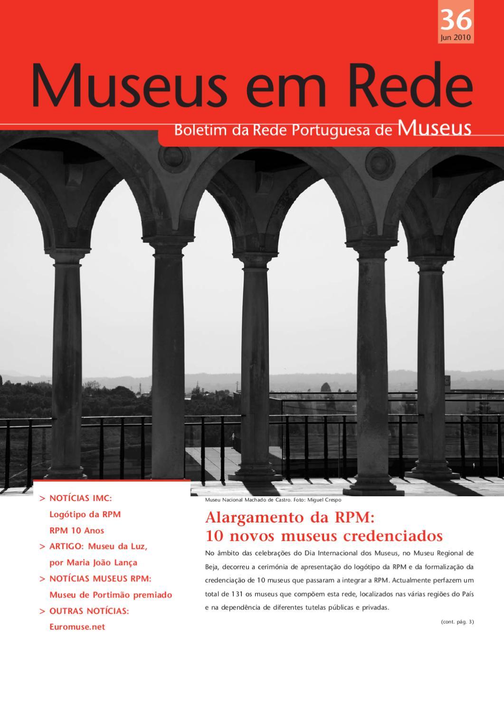 1b7c77d13c Museus em Rede Nº 36 by Instituto dos Museus e da Conservação - issuu