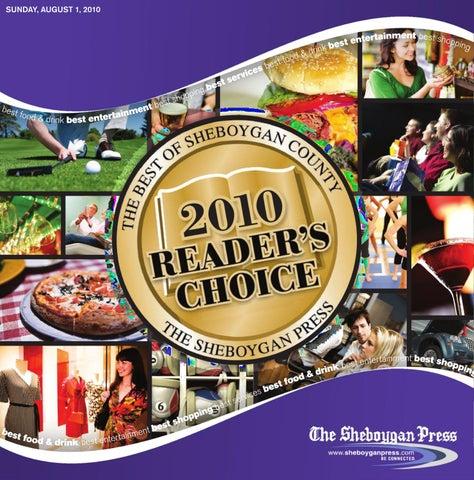 Best Of Sheboygan County Readers Choice Awards 2010 By Gannett