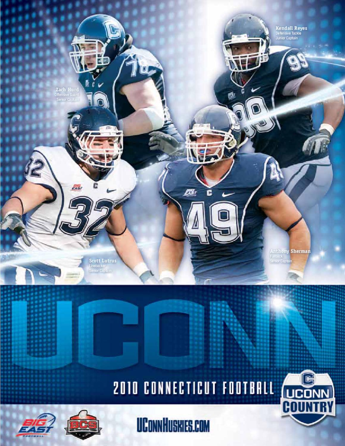 4ce5da01082 2010 UConn Football Media Guide by UConn Divison of Athletics - issuu