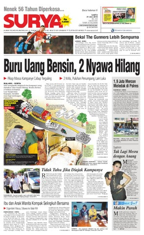 Surya Edisi cetak 31 juli 2010 by Harian SURYA - issuu a8e2998594