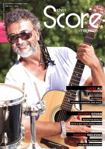 The Score Magazine - August Issue by The Score Magazine - issuu