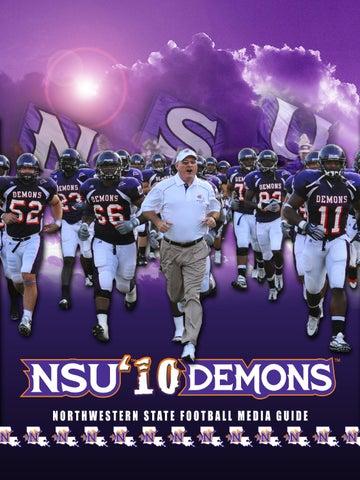 2010 NSU Football Media Guide by Northwestern State Athletics - issuu 8d69a5fcb