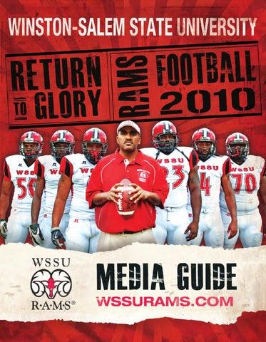 2010 WSSU Football Media Guide by Winston-Salem State University ... c739ee503