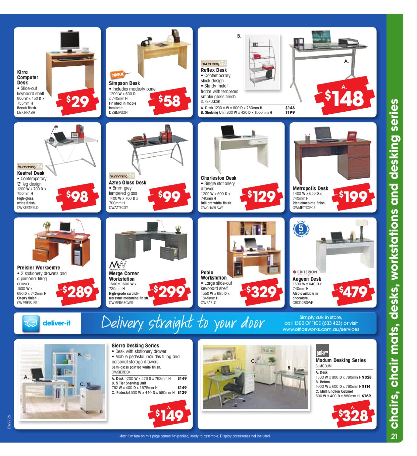 Officeworks August 2010 Catalogue by Atomic Media - issuu