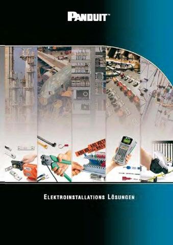 Panduit Elektroinstallationslösungen by Wilhelm Hansen - issuu