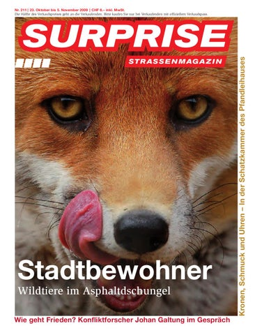 Surprise Strassenmagazin 211/09 by Strassenmagazin Surprise - issuu