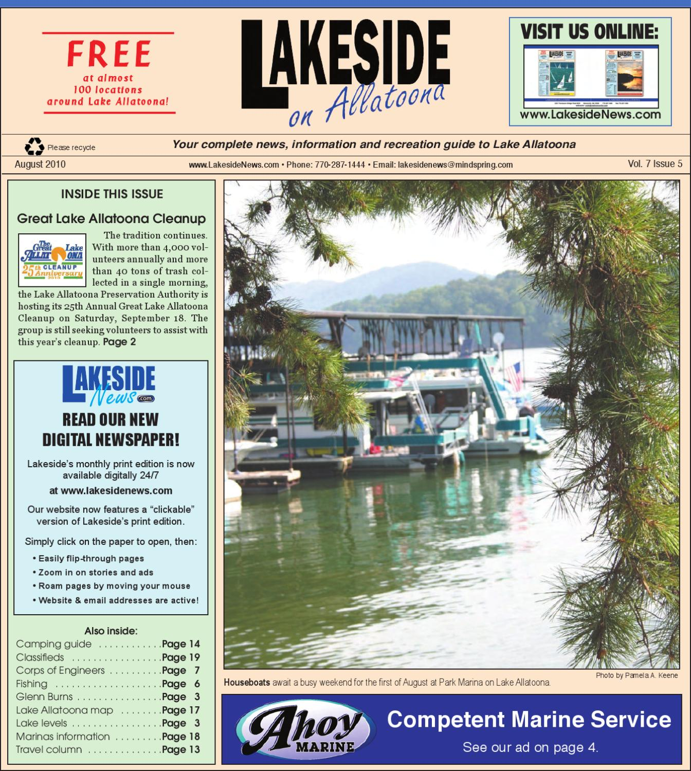 LakesideonAllatoonaAugust2010 by Lanier Publishing Inc  - issuu