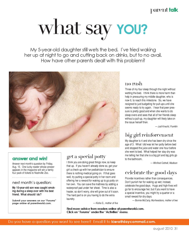 Williamson Parent Magazine - August 2010 by Day