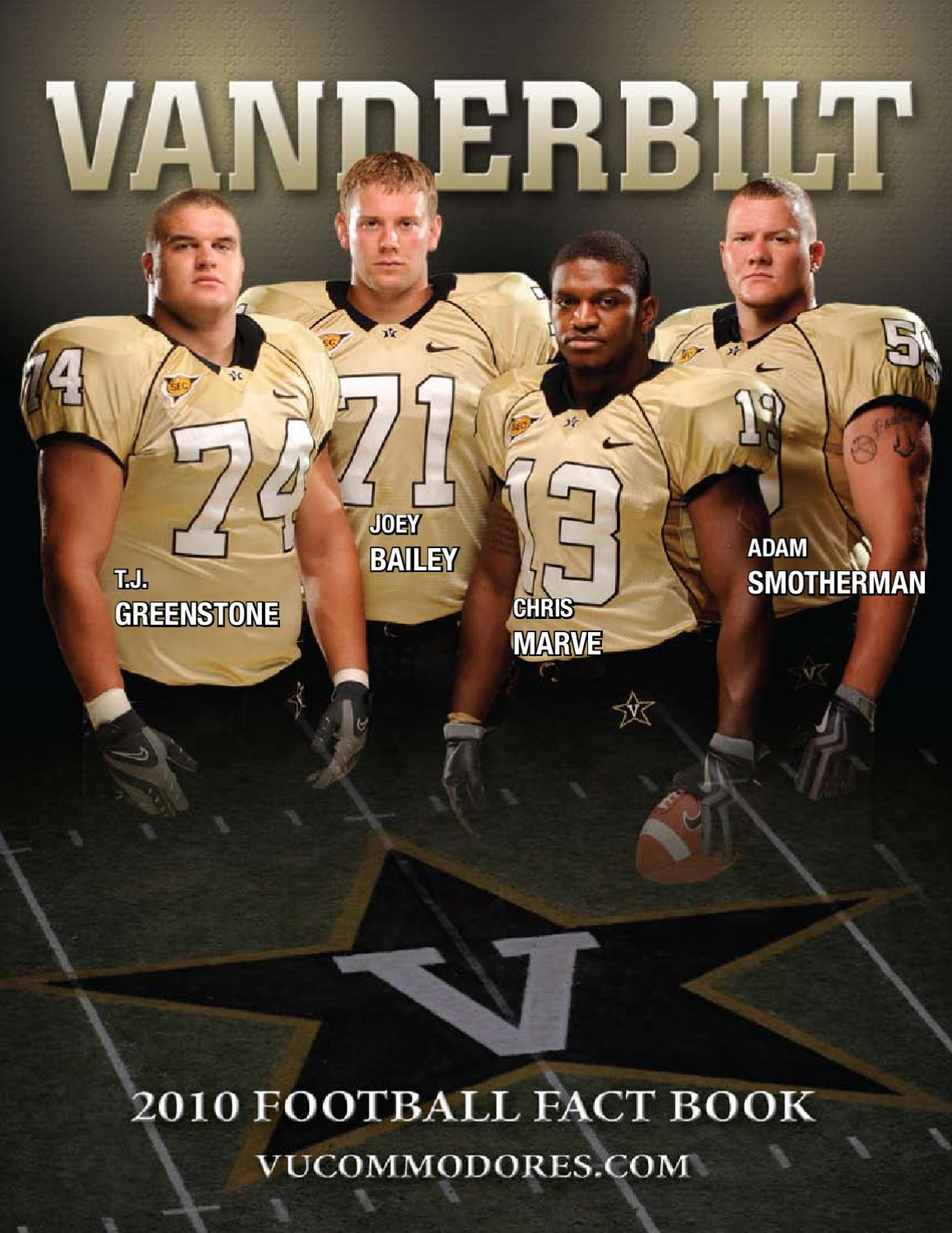 2010 Vanderbilt Football Fact Book by Vanderbilt Commodores - issuu c6cb0aeb0