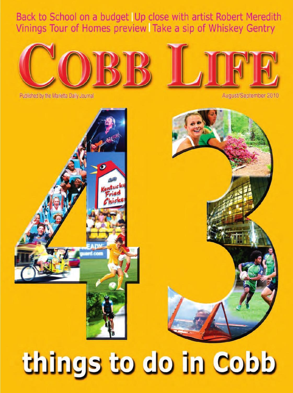 Cobb LIfe Magazine August 2010 By Otis Brumby III
