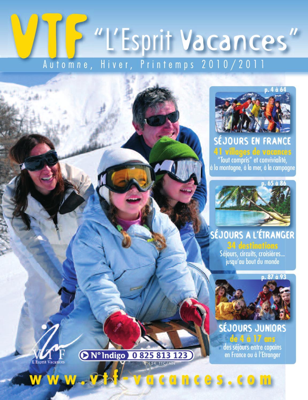 Brochure Vacances Hiver 2011 L'esprit By Vtf Issuu qcAR35jL4