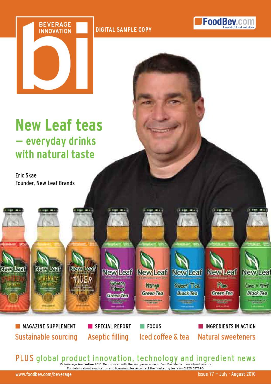 Issue 77 Beverage Innovation By Foodbev Media Ltd Issuu Sucralose Tate Lyle 100ml