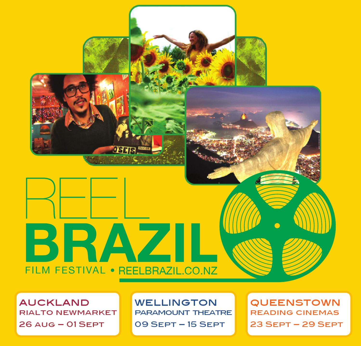 2010 Reel Brazil Film Festival Brochure (New Zealand) by